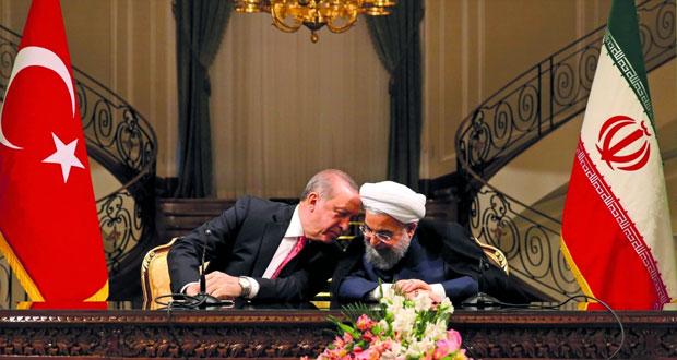 تركيا: اردوغان يناقش في طهران التعاون الاقتصادي والتجاري والاستراتيجي