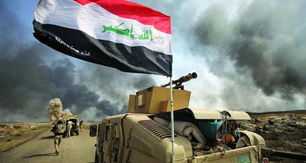 القوات العراقية تدخل ناحية الرشاد وتحرر مطار الفتحة ومقتل أكثر من 100 داعشي في قصف للتحالف الدولي