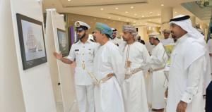 البحرية السلطانية تنظم معرضا لـ(شباب عمان 2)