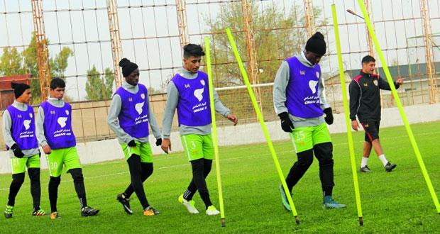 منتخبنا للشباب يكثف تدريباته للمواجهة الأولى قبل خوض غمار التصفيات الآسيوية