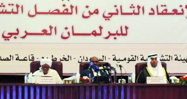السلطنة تشارك في دور الانعقاد الثاني للبرلمان العربي بالخرطوم
