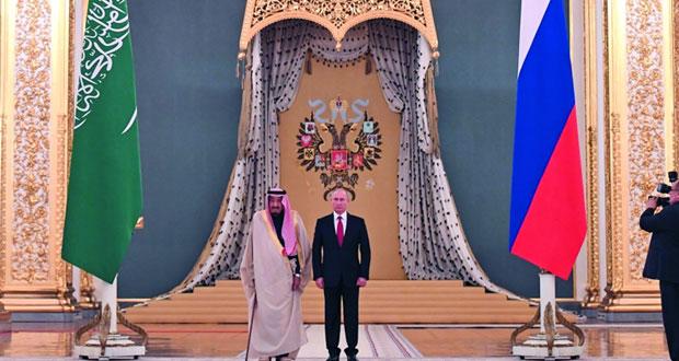 مباحثات سعودية ــ روسية فـي موسكو حول «تعزيز العلاقات»