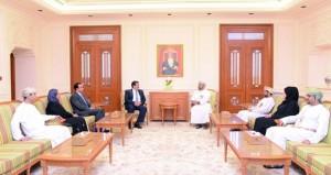 استعراض التعاون بين مجلس الدولة ومركز الملك عبدالله الثاني للتميز