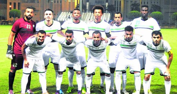 العروبة يكسب فريق القوات المسلحة القطري بأربعة أهداف واليوم يلاقي فريق أم صلال