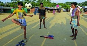 حكومة ميانمار تحصد الحقول التي هجرها الروهينجا