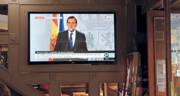 (استفتاء كاتالونيا): الحكومة الإسبانية توجه إنذارا أخيرا وتطالب بتوضيح