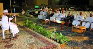 ليلة إنشادية لذوي الإعاقة بجامعة السلطان قابوس