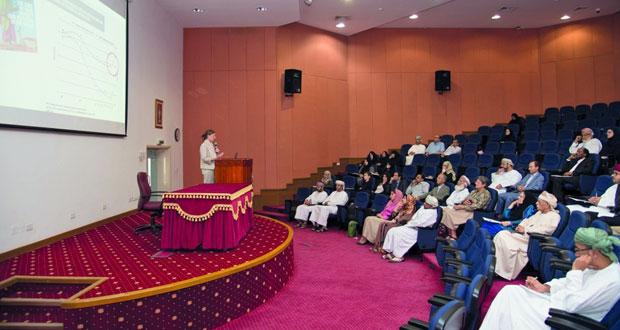 """جامعة السلطان قابوس تنظم ندوة بعنوان """"رؤية مستنيرة للأمن الغذائي في عُمان"""""""