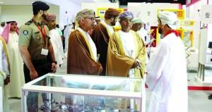 افتتاح معرض عمان للأمن والسلامة والحرائق 2017
