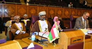 السلطنة تشارك فـي اجتماعات الدورة الـ «29» لمجلس الوزراء العرب المسؤولين عن شؤون البيئة بالقاهرة