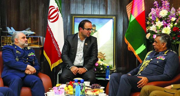 استعراض التعاون بين سلاح الجو السلطاني العماني والقوات الجوية الإيرانية