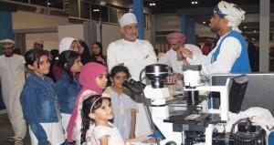 ختام فعاليات مهرجان عمان للعلوم 2017