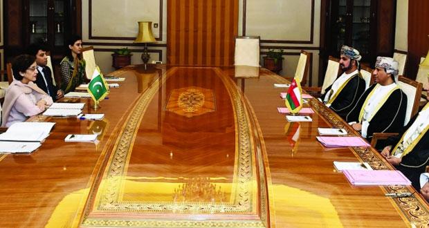 جلسة مشاورات سياسية بين السلطنة وباكستان