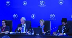 الشورى يشارك بورقة عمل في الجلسات الحوارية البرلمانية في روسيا