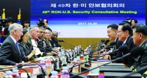أميركا تهدد كوريا الشمالية برد (ساحق) في حال استخدمت (النووي)