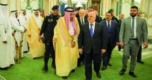 الرياض وبغداد تتوجان تقاربهما بمجلس تنسيق مشترك برعاية أميركية