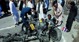 باكستان: قتلى بتفجير انتحاري استهدف شاحنة للشرطة