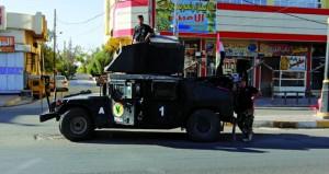 القوات العراقية تنتشر في كركوك وواشنطن تطالبها بالحد من تحركاتها
