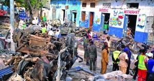 الصومال: الأمن يقتل مسلحين غداة اعتداء أودى بحياة 29