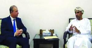 وفد عماني يبحث آفاق الاستثمار في سوريا