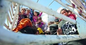 الجيش العراقي يكمل (فرض الأمن) في كركوك والبشمركة تعود إلى مواقع ما قبل اجتياح (داعش)