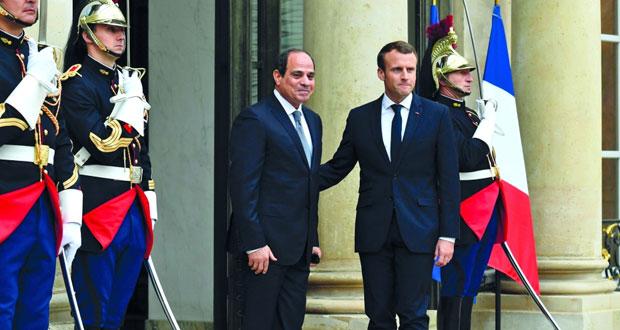 مصر: قمة السيسي ماكرون تركز على التعاون الاقتصادي ومحاربة الإرهاب