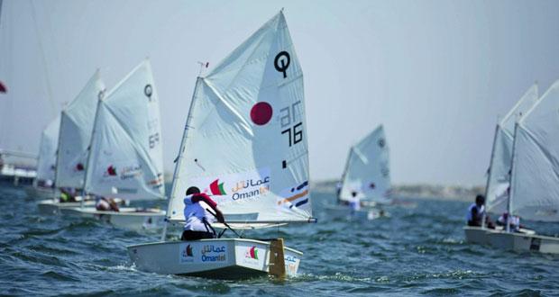 أشبال عُمان للإبحار يضعون خلاصة تجاربهم على المحك في بطولة آسيا وأوقيانوسيا للأوبتمست
