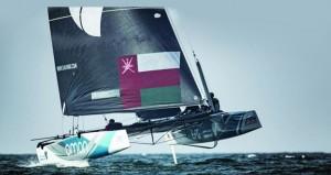 فريق قارب الطيران العُماني واثق من قدرته للمنافسة على لقب الإكستريم الشراعية
