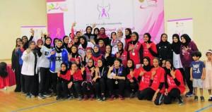 فريق لجنة رياضة المرأة (1) يتوج بطلا للمسابقة الأولى لكرة السلة «3×3» للسيدات