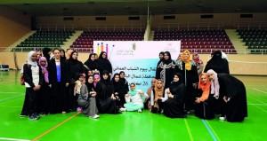 الشؤون الرياضية بشمال الباطنة تحتفل بيوم الشباب العماني