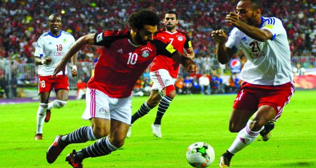 مصر إلى النهائيات لأول مرة منذ 1990 بفوزها على الكونغو