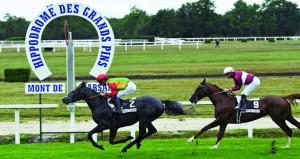 الحصان روض للخيالة السلطانية يفوز بشوط دجورمان الفرنسي
