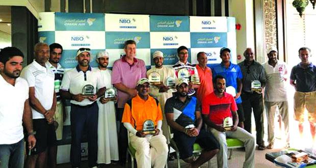 أفضل أثني عشر لاعب جولف عمانيا من الهواة يضمنون مشاركتهم في منافسات الهواة