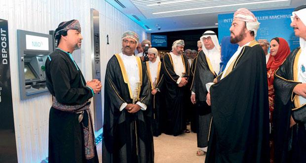 أسعد بن طارق يرعى احتفال البنك الوطني العماني بافتتاح مقره الجديد في بوشر