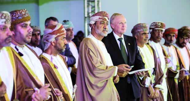 افتتاح منشآت حقل خزّان للغاز رسميا