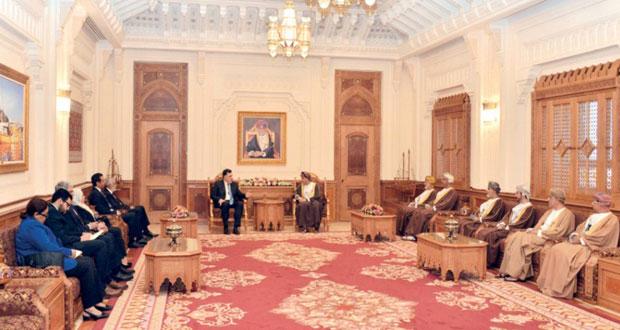 السلطنة وليبيا تبحثان تعزيز التعاون الثنائي في المجالات الاقتصادية والاستثمارية