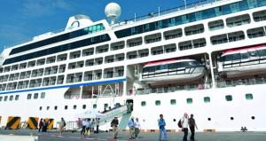 ميناء صلالة يستقبل سفينة سياحية على متنها 680 سائحاً
