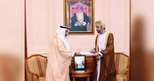 رئيس مجلس الشورى يتسلّم رسالة من رئيسة المجلس الوطني الاتحادي الاماراتي