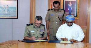 شرطة عمان السلطانية توقع برنامجي تعاون مع التنمية الاجتماعية وبلدية مسقط