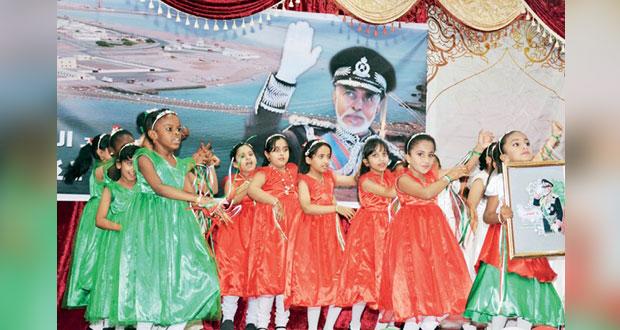 محافظات وولايات السلطنة تواصل ابتهاجها وأفراحها بالعيد الوطني الـ47 المجيد