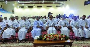 كتاب وأدباء الظاهرة يحتفون بالعيد الوطني في أمسية وطنية