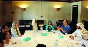 ختام أعمال حلقة الإبداع الروائي والجائزة العالمية للرواية العربية