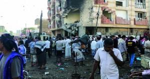 اليمن : قتلى بانفجار (مفخخة) في عدن وداعش يتبنى