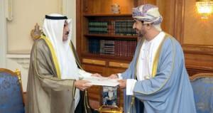 جلالة السلطان يتلقى دعوة من أمير الكويت لحضور قمة (التعاون)