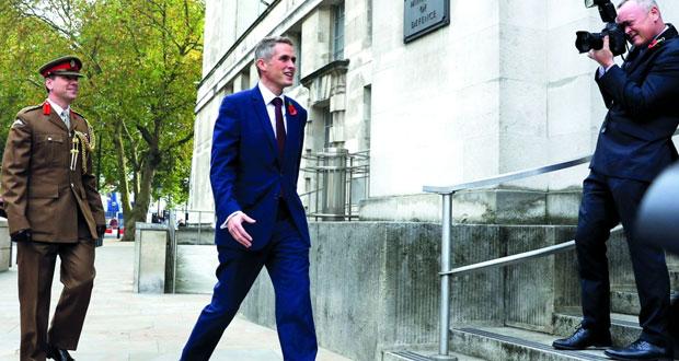بريطانيا: تعيين غافين وليامسون وزيرا للدفاع خلفا لمايكل فالون