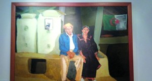 معرض للمناظر والبورتريهات بالمتحف الوطني للفن الحديث والمعاصر بالجزائر
