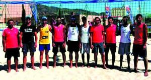 اليوم بدء وصول المنتخبات المشاركة في البطولة العربية للكرة الطائرة الشاطئية بمسقط