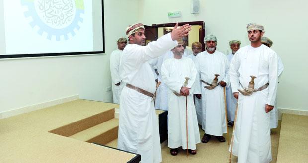 افتتاح المبنى الجديد لغرفة تجارة وصناعة عمان بجنوب الباطنة على مساحة 1300 متر مربع