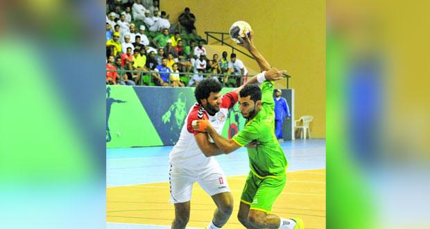 مسقط يواجه نادي عمان في ختام النسخة السابعة لمسابقة درع الوزارة لكرة اليد