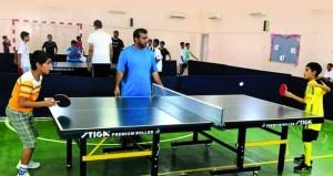 انطلاق التصفيات النهائية لمنافسات دوري ستاج لكرة الطاولة للمدارس